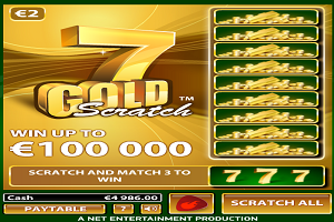 jeux casino 7 Gold Scratch