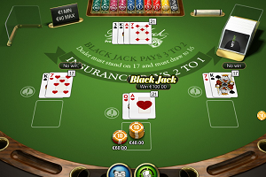 jeux casino BlackJack Professional Series Netent