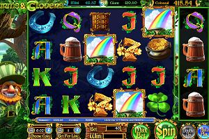 jeux casino Charms and Clovers