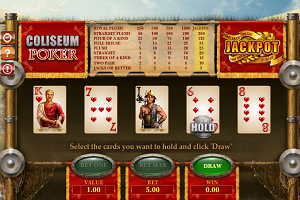 jeux casino Coliseum Poker