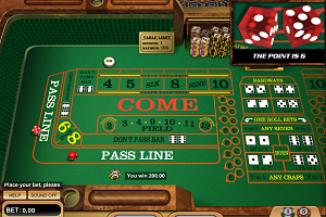 jeux casino Craps Betsoft