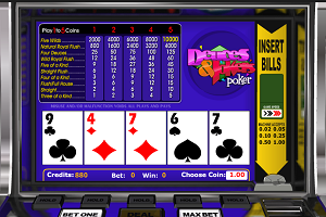 jeux casino Deuces & Jokers Poker