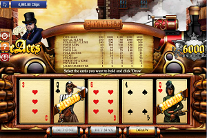 jeux casino Five Aces