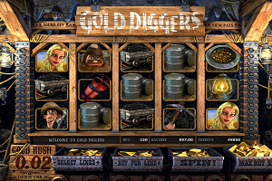 jeux casino Gold Diggers