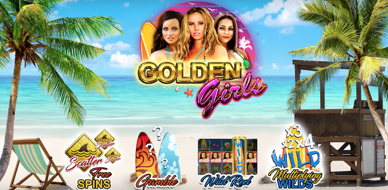 Golden Girls de Booming Games prolongera vos vacances à la plage !
