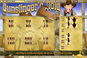 jeux casino Gunslinger's Gold