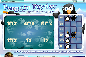 jeux casino Scratch and Win Penguins Pay Day