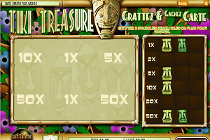 jeux casino Tiki Treasure