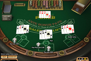 jeux casino Triple Edge Poker
